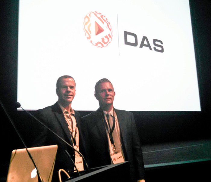 PRO-TEK VP Tom Regal and Chris Lacinak, DAS 2015