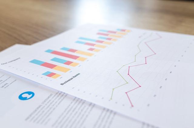 Data charts and graphs