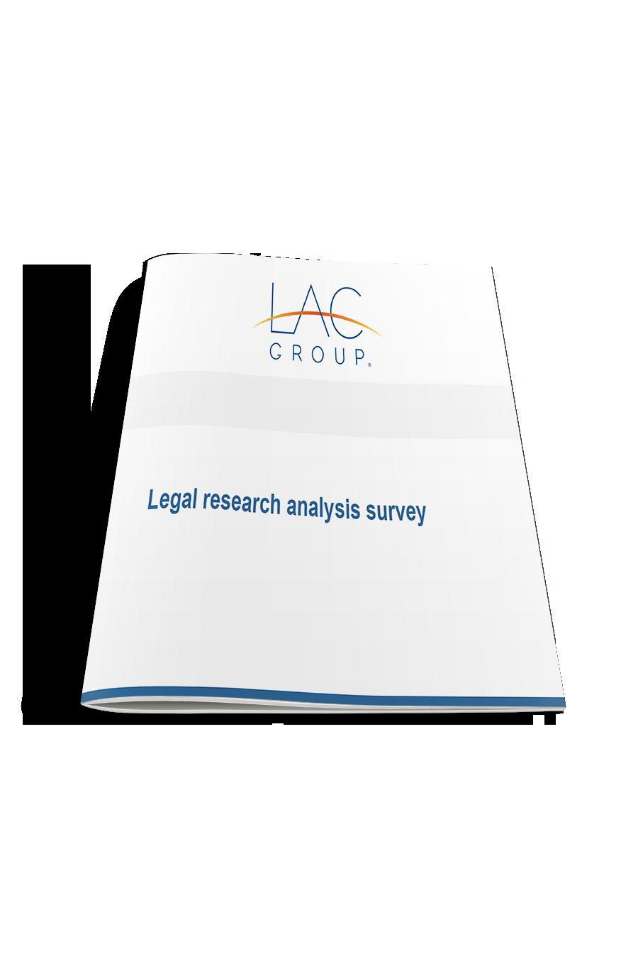 Legal research survey