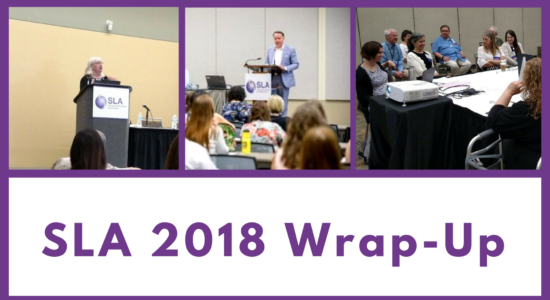 SLA 2018 wrap up