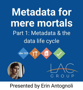 Part 1_ Metadata & the data life cycle