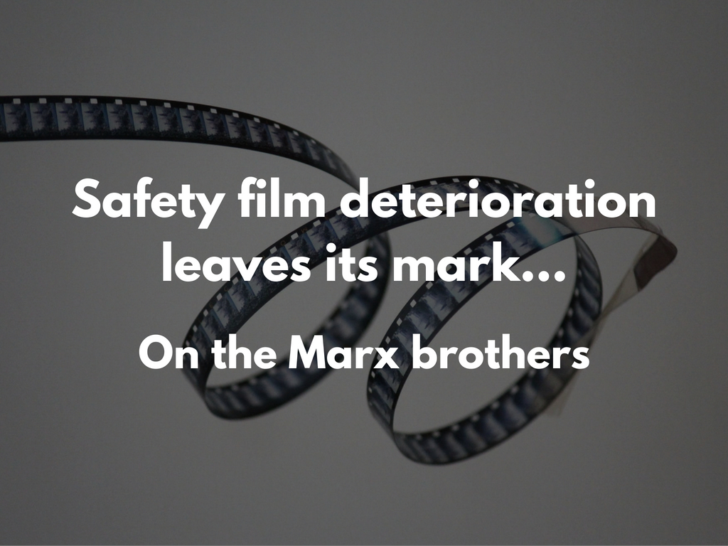 safety film deterioration