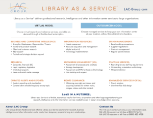 Library as a service