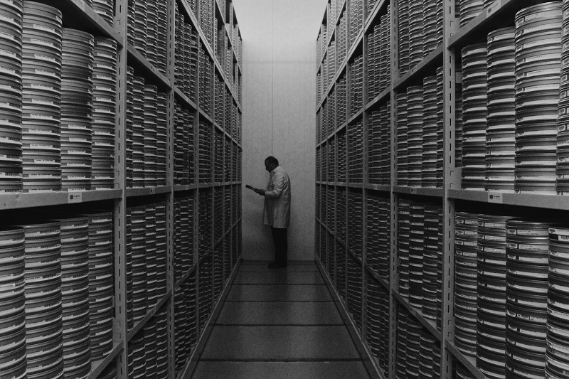 Film vault storage
